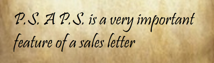 Ps dont forget to put a ps on your direct mail letters ps sales letters thecheapjerseys Images